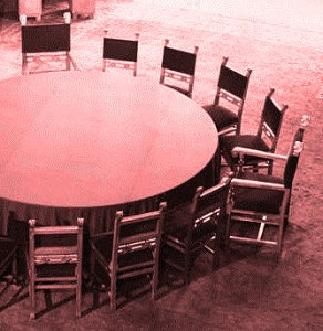 conference-table-red