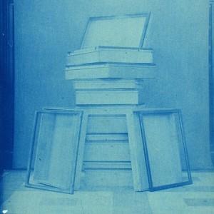 pile of exhibit cases