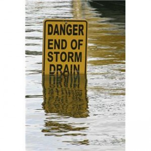 sign in flood