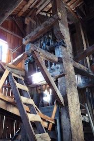 interior posts and beams