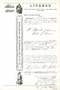 ship license