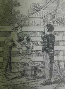 Avoid the pressure to whitewash, or self-censor, by defending the inclusion of the whole story from the beginning.  Not doing so may encourage the site to make deeper interpretive erasures.  Mark Twain, The Adventures of Tom Sawyer.