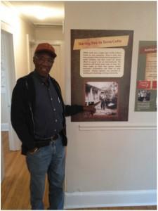 man with exhibit photo