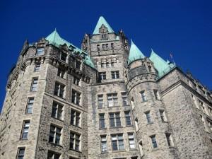 Distinctive architecture of government buildings in Ottawa (Photo courtesy of Denise Meringolo)