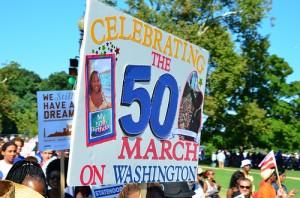 50th Anniversary of the March on Washington, photo courtesy YWCA USA
