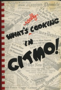 Cover of What's Really Cooking in GItmo!, compiled by base residents in 1964, courtesy of Frances Matlock