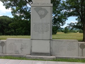 South Carolina's monument to its troops offers a smoldering defense of states' rights. Photo courtesy of Jill Ogline Titus.