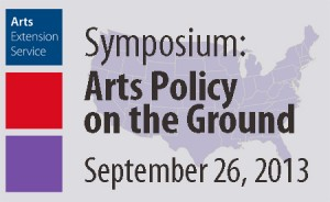 Conference Poster, photo courtesy of the Arts Extension Service at UMass Amherst.