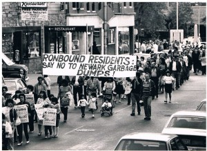 protest march