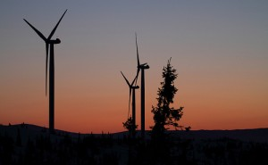 large wind turbines