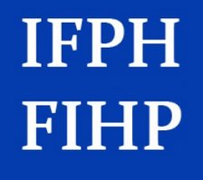 International Federation  for Public History / Fédération Internationale pour l'Histoire Publique logo. Credit: IFPH/FIHP blog