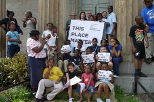 This Place Matters campaign in Baltimore. Courtesy, Baltimore Heritage.