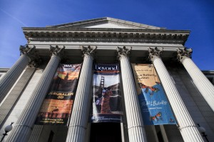 Banner outside the National Museum of Natural History.   Credit: Via US Department of State on Flickr, Creative Commons