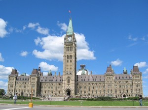 Canadian parliament building. Photo credit: commons.wikimedia.org