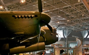 A Lancaster bomber at the Canada Aviation and Space Museum in Ottawa.  Photo credit: Doug Zwick