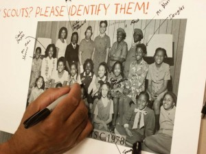 History comes alive as Warnersville residents identify photographs at a memory and story-sharing event in Greensboro, NC | Credit: Greensboro Historical Museum