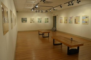 Pop-Up Museum in art gallery