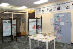 Wide shot of part of the exhibit. Photo credit: Jayd Buteaux