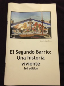 A chapbook about the history of El Segundo Barrio was another early Museo Urbano project. Photo credit: Cynthia Rentería