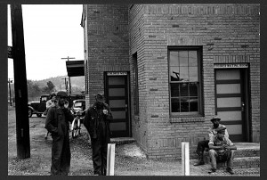 Segregated train station in Manchester, Georgia, 1938. Source: Library of Congress