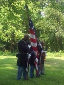 Memorial Day ceremony, Midland Cemetery, Midland, PA, 2013. Photo credit: Brenda Barrett.