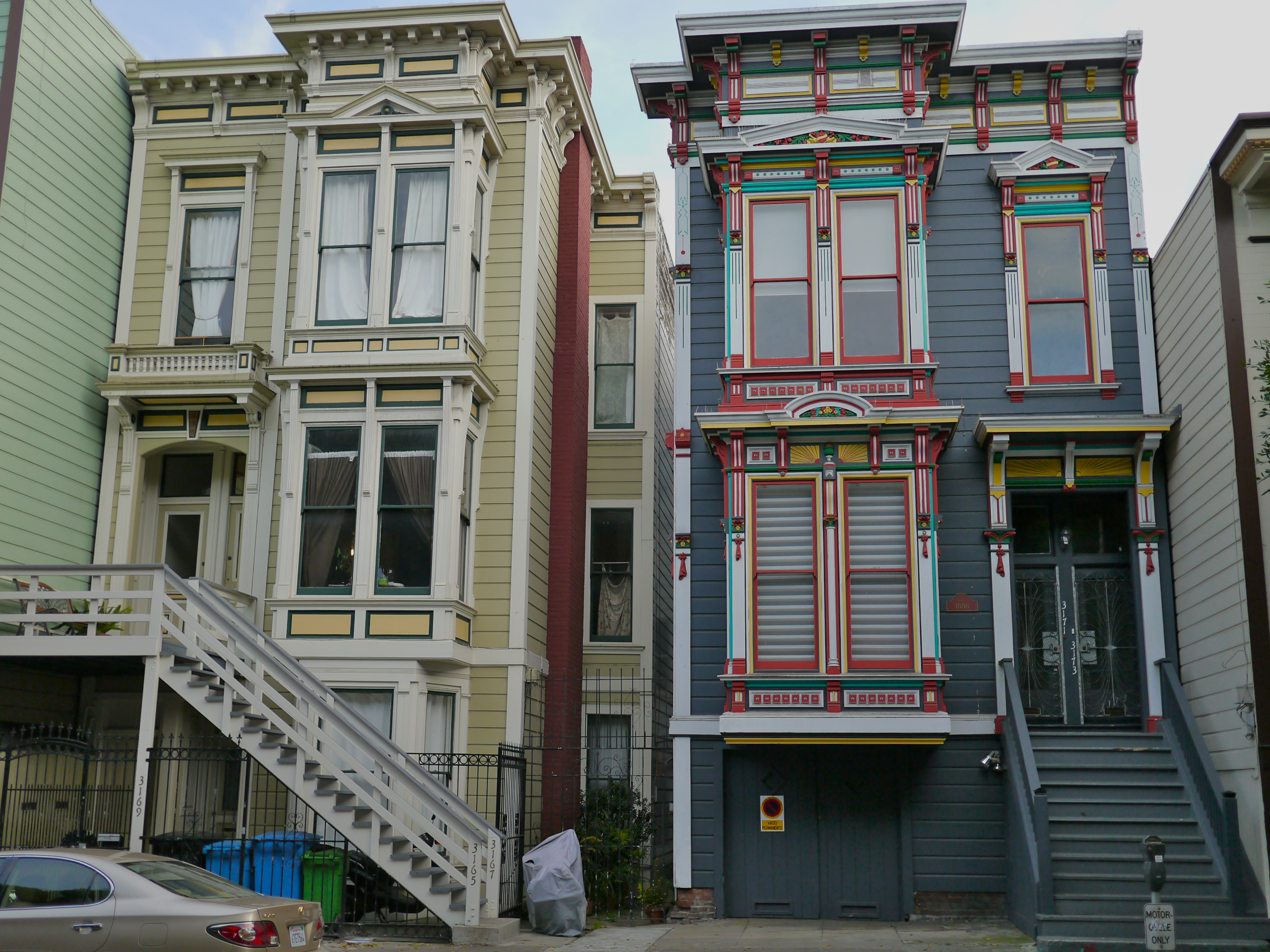 National historic preservation act commemoration for Houses in san francisco