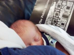 The author's son. Image courtesy of Adina Langer.