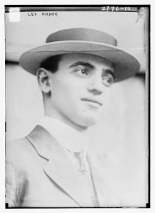 Leo Frank circa 1910. Courtesy of the Library of Congress, Prints & Photographs Division, [reproduction number, e.g., LC-B2-1234]