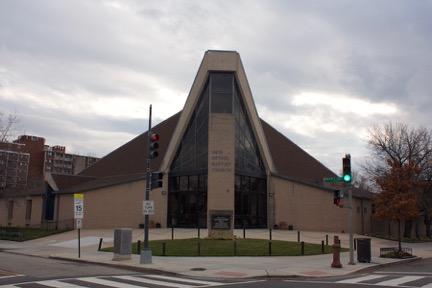 New Bethel Baptist Church. Photo by the author.
