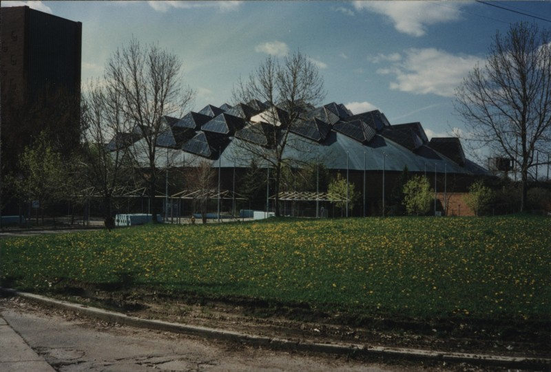 AutoWorld Dome, ca 1990s. Photo credit: Grant Burns