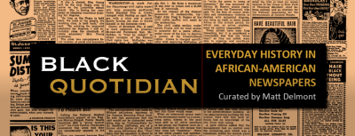 Black Quotidian_Front Page Image