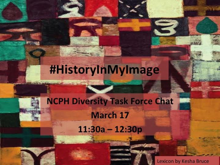 NCPH Diversity Task Force logo. Image credit: Kesha Bruce