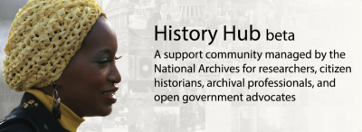 History Hub Screen Grab