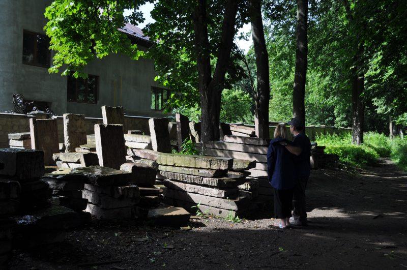 Jewish cemetery at Kolomiya. Photo credit: Jonathan Schaffer