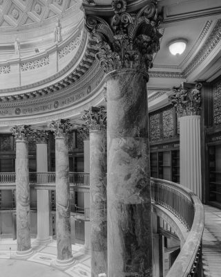Gould Memorial Library. Photo credit: Bruce G. Harvey.