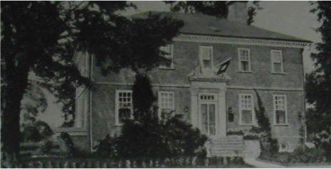 Photo of the Wythe House that was in included in Marguerite DuPont Lee, Virginia Ghosts, (William Byrd Press: Richmond, 1930) 23.