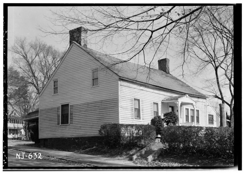 Timothy Mills House. Photo courtesy Library of Congress