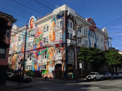 Originally built as a German social hall, The Women's Building in San Francisco's Mission District has served as one of the anchors for women, feminists, lesbians, and queer and progressive groups more generally in San Francisco since it was founded in 1978.