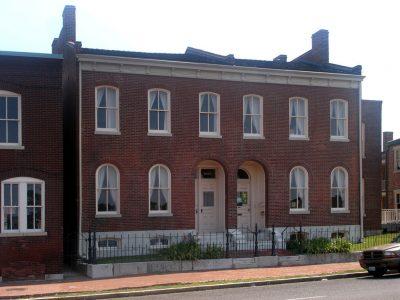 Scott Joplin Historic Site, St. Louis, MO. Photo by Kevin Saff, https://en.wikipedia.org/wiki/File:Scott_Joplin_House.jpg, CC BY-SA 2.