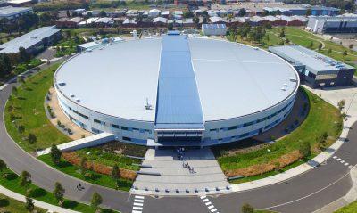 Australian Synchrotron, outside Melbourne, opened in 2007.