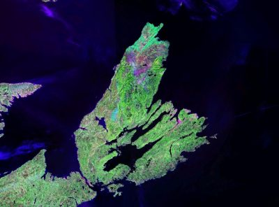 Cape Breton, by NASA NASA Landsat, via Wikimedia Commons