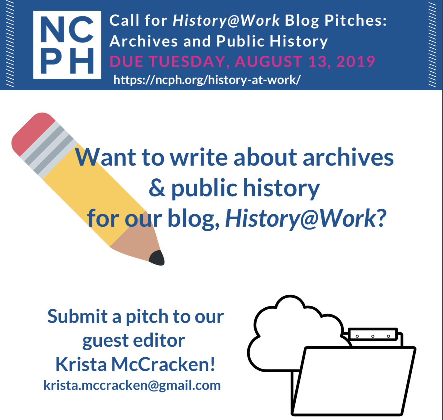 CFP-Archives Month call for blog post pitches | National Council on
